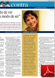 2004 Annick Article la vanguardia_corps_miroir_body_mirror_system_chakra_healing_martin_brofman