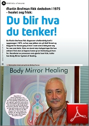 2013 traduction interview Medium norwegian 1-2013_corps_miroir_body_mirror_system_chakra_healing_martin_brofman